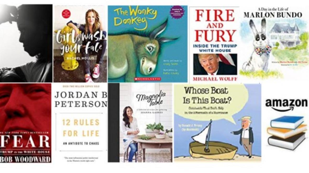 پرفروش ترین کتاب های آمازون در سال 2018، خاطرات میشل اوباما در رتبه نخست