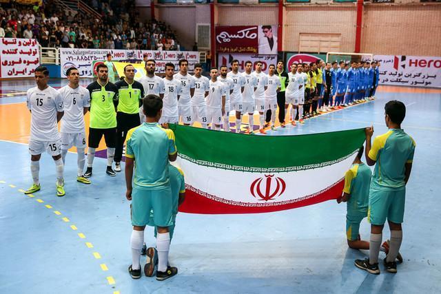 فردا، اولین بازی ایران در جام جهانی فوتسال، شاگردان ناظم الشریعه در اندیشه برد اسپانیا