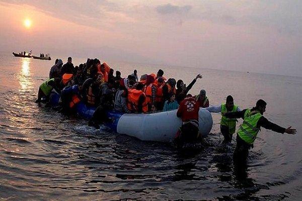 غرق شدن 525 مهاجر در دو ماه ابتدایی سال2017 در دریای مدیترانه