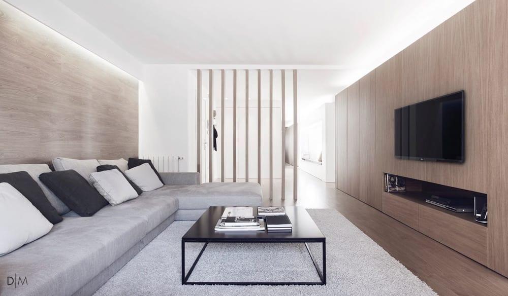 آپارتمانی با طراحی زیرکانه