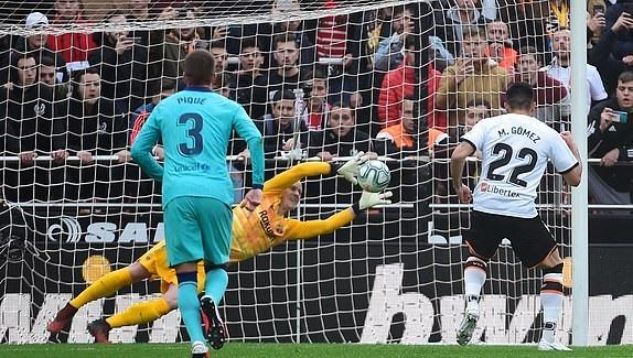 والنسیا 2 - 0 بارسلونا؛ والورده کجایی که یادت بخیر!