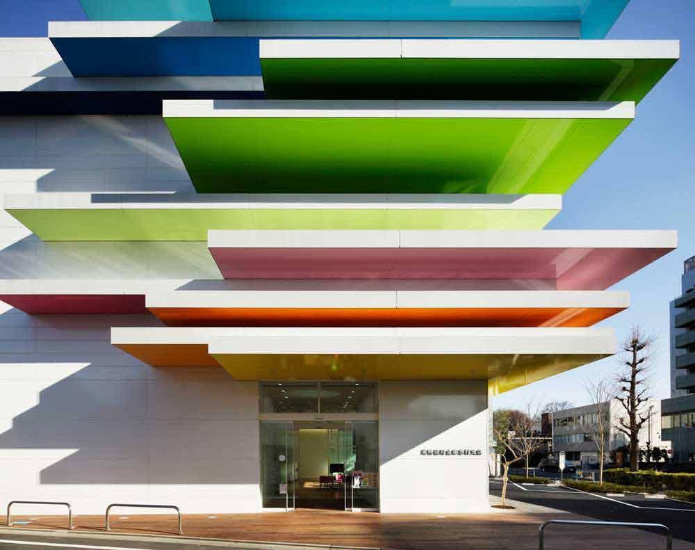 معماری ژاپنی در بانک سوگاموشینکین