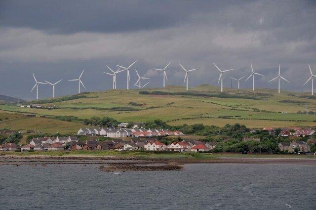 دستیابی صد در صدی اسکاتلند به انرژی های تجدیدپذیر در سال 2020