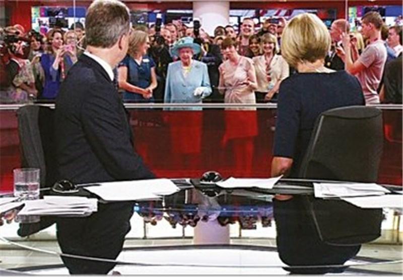 ممیزی شدید ملکه انگلیس در BBC