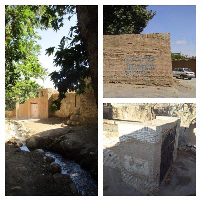 دیوارنویسی بر آب انبار 160 ساله میامی به فاصله ساعاتی پس از پاکسازی!
