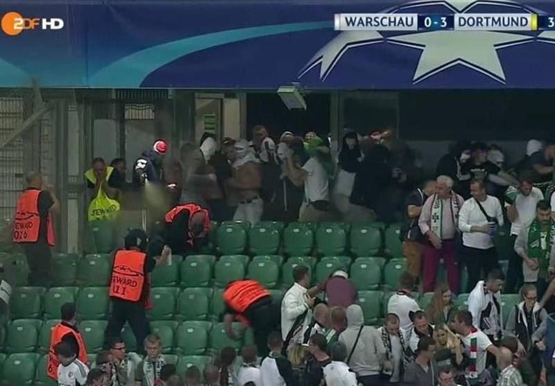 بازی لژیا - رئال مادرید بدون تماشاگر برگزار می گردد