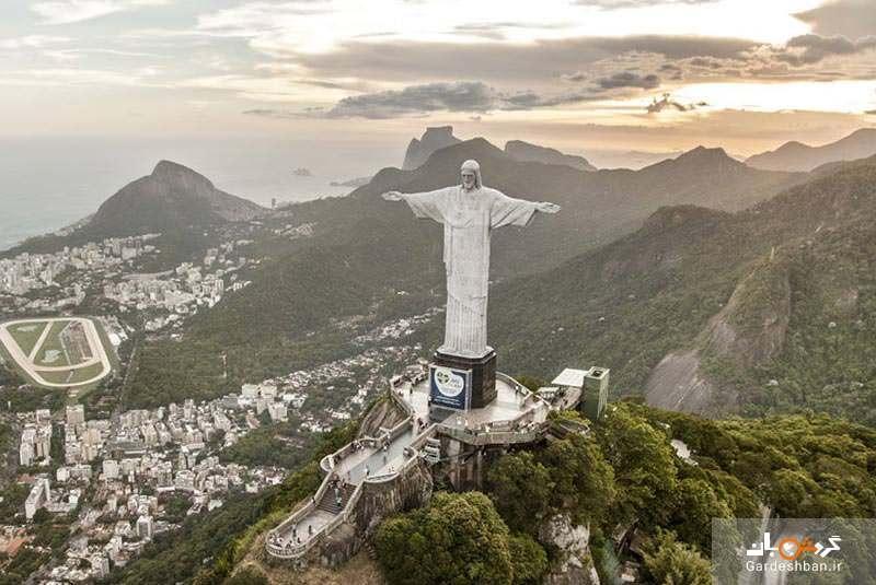 مجسمه مسیح منجی؛ مهمترین نماد برزیل، عکس