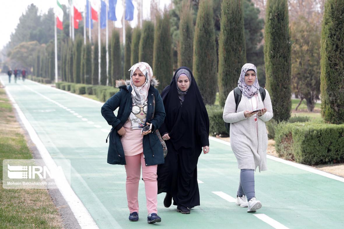 خبرنگاران دانشجویان خارجی دانشگاه فردوسی به کشورشان بازگردند