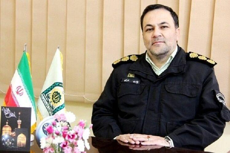خبرنگاران کرونا جان فرمانده انتظامی اسفراین را گرفت