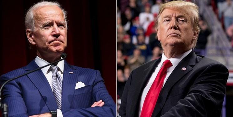 نظرسنجی، رقابت نزدیک بایدن و ترامپ برای ریاست جمهوری 2020 آمریکا