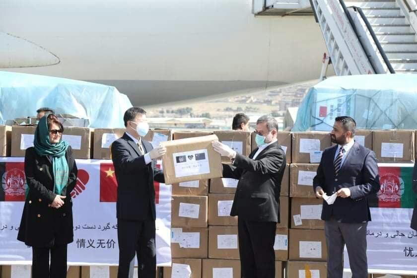 نخستین محموله پزشکی چین به کابل رسید