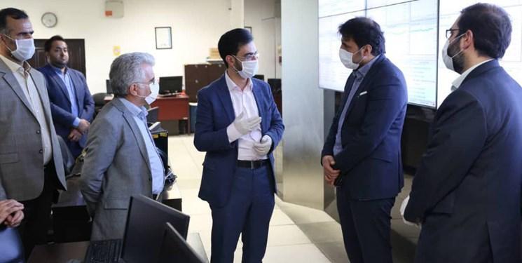 وزیر ارتباطات از مرکز عملیات شبکه و دیتا سنتر رایتل بازدید کرد