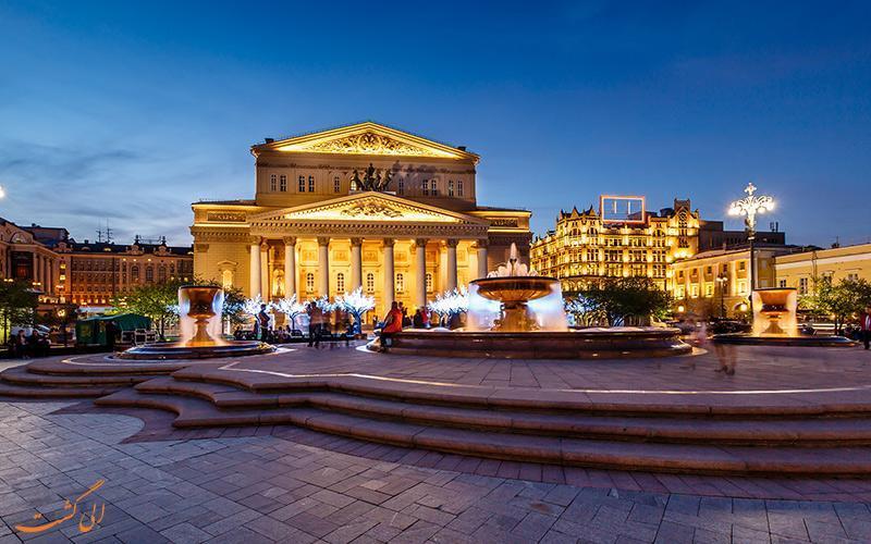 تالار بولشوی، باشکوه ترین سالن اپرا در روسیه