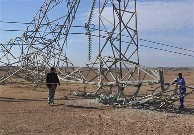 تروریست ها خط انتقال برق در خانقین را هدف قرار دادند