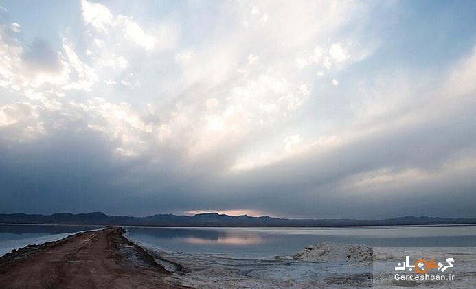 دریاچه نمک حوض سلطان؛آینه طبیعی قم