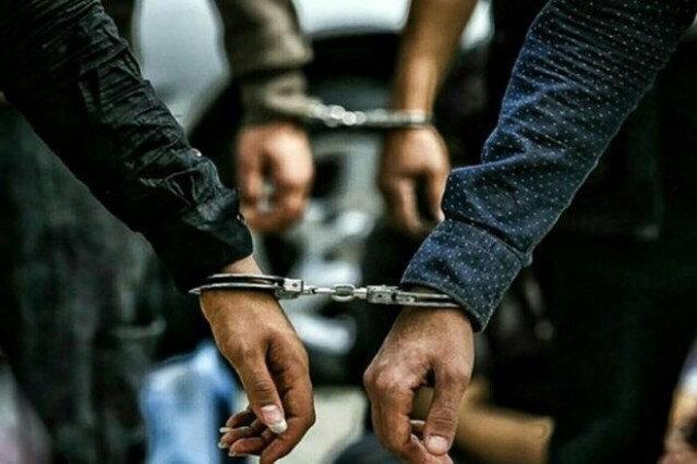 دستگیری مادر و دختر دزد