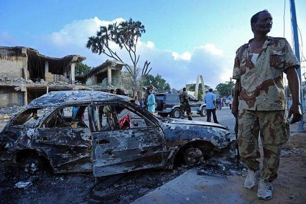 وقوع انفجار در شهر موگادیشو سومالی