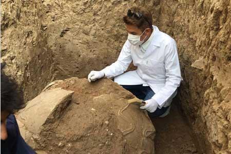 کشف چاه سنگی منحصر به فردِ دوره اشکانی در اصفهان