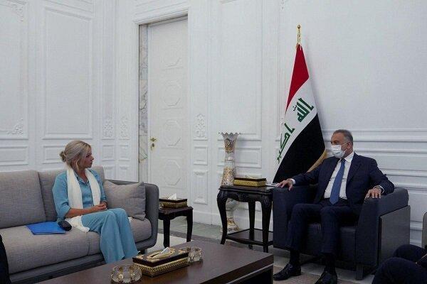 محورهای رایزنی الکاظمی با نماینده سازمان ملل در امور عراق