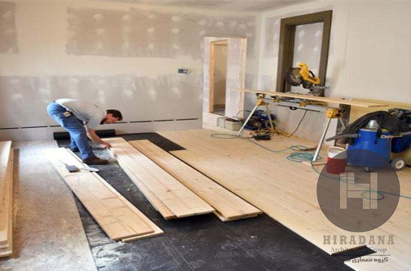 فرایند و مراحل بازسازی و نوسازی ساختمان