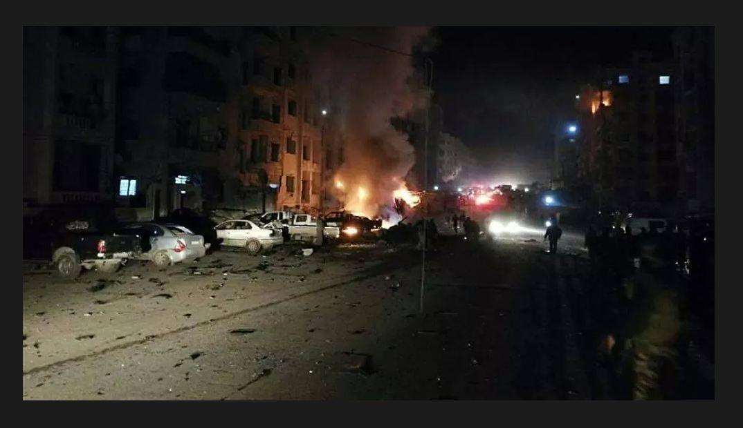انفجار انبار اسلحه در ادلب 10 تروریست را به هلاکت رساند