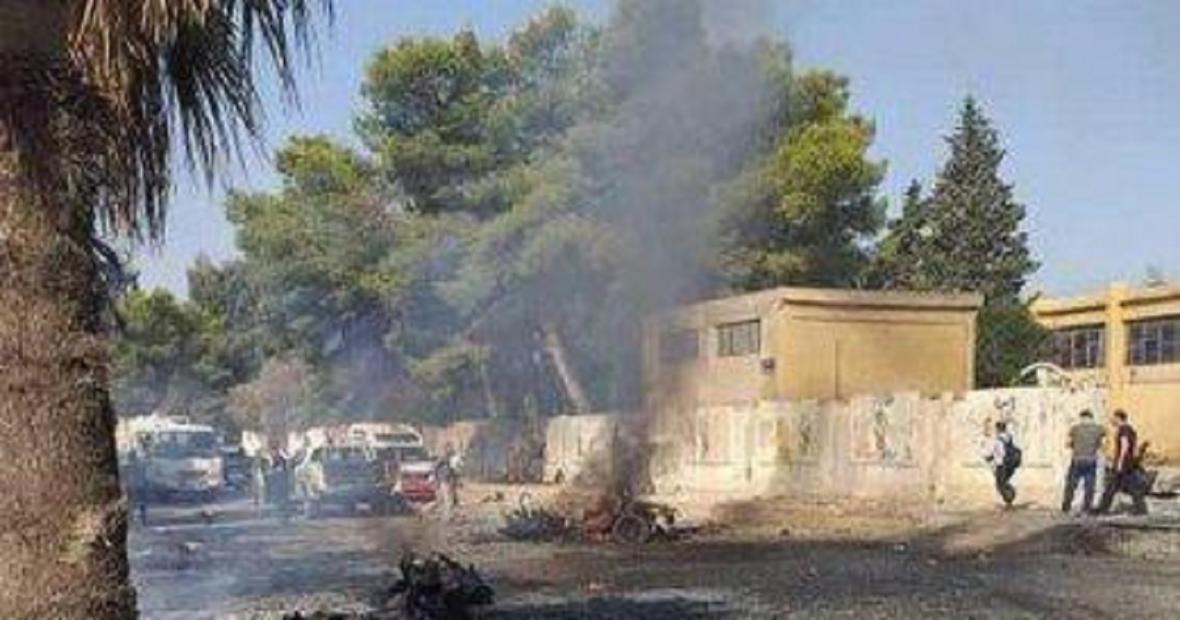 وقوع چند انفجار در ریف ادلب