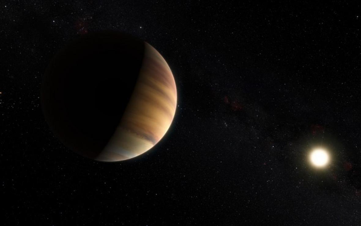 سیاره ای که بارانش سنگ است و بادش مافوق صوت