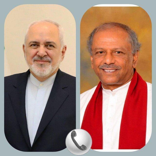محکومیت ترور شهید فخری زاده در تماس تلفنی وزیر خارجه سریلانکا با ظریف