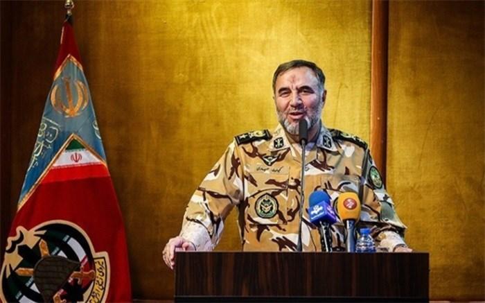 سرتیپ حیدری: فعلا خطری مرزهای کشور را تهدید نمی کند