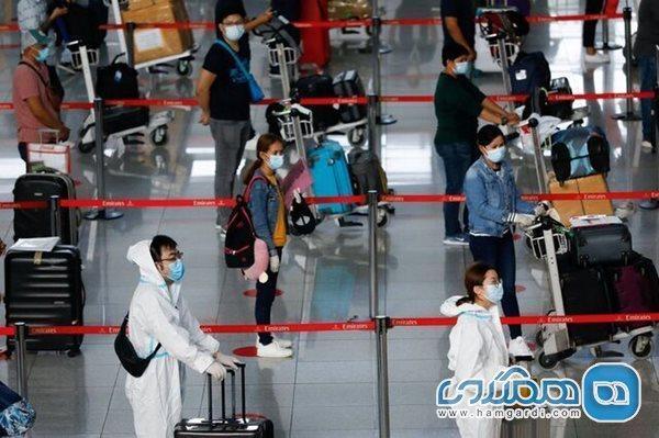 جلوگیری از ورود مسافران خارجی از ایالات متحده به فیلیپین