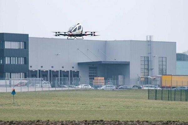چینیها در قلب اروپا تاکسی هوایی راه اندازی کردند