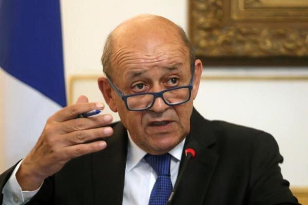 ادعای وزیر خارجه فرانسه درباره موضوع هسته ای ایران