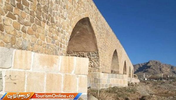 اتمام بازسازی و استحکام بخشی پل شاپوری خرم آباد