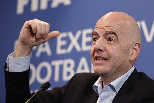رئیس فیفا: جام جهانی باشگاه ها را گسترش می دهیم خبرنگاران