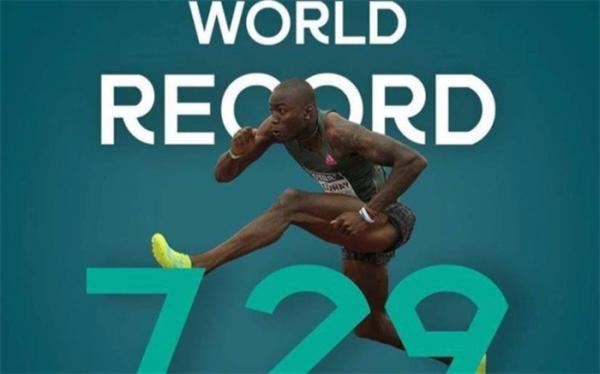 رکورد دو 60 متر با مانع دنیا شکست