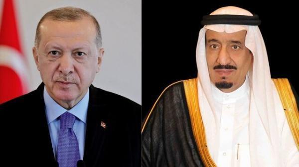 تماس تلفنی اردوغان با ملک سلمان