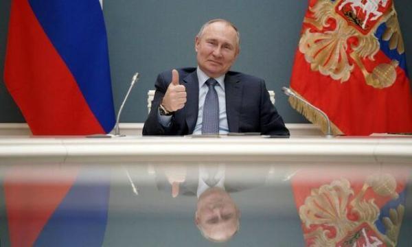 چند درصد از مردم روسیه به پوتین اعتماد دارند؟