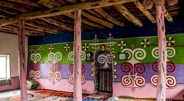 مسجد قاولقا در راز و جرگلان، بنایی تاریخی با نقاشی های دیواری منحصربه فرد