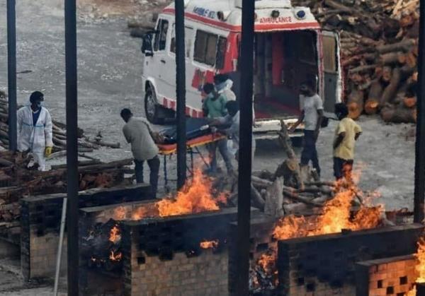 هند بالاترین رکورد تلفات روزانه کرونا در دنیا را شکست: 6148 نفر کشته!