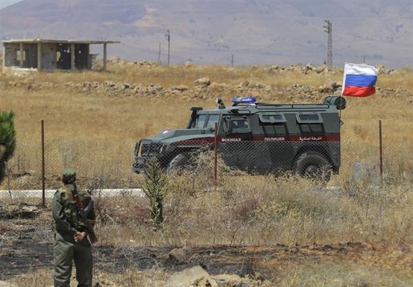 پلیس نظامی روسیه از تخلف کاروان نظامیان آمریکایی در سوریه جلوگیری کرد